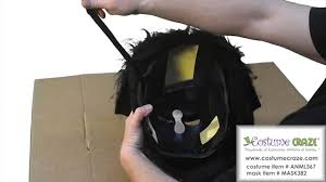 spirit halloween code goin u0027 ape mask for halloween youtube