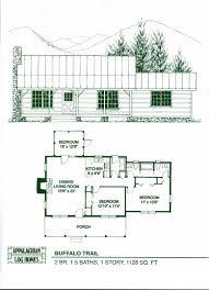 bedroom log cabin floor plans change master to garage bath other