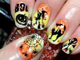 imagenes de uñas decoradas de jalowin modernos diseños de uñas para halloween decoracion de uñas