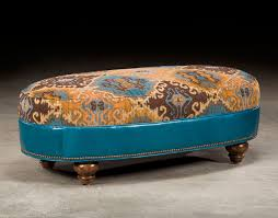 tufted leather chair and ottoman tufted turquoise leather chair and a half