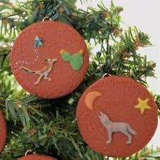 southwestern ornaments sedona rock dirt set of 4 different