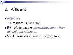 Synonyms Of Opulent Vocabulary Unit Academic Adjective Pertaining To A College Or