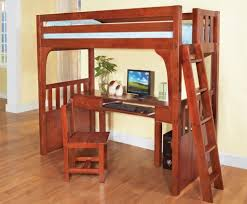 how to build a full size loft bed furniture astonishing wooden full size loft bed with desk and