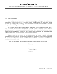 Free Cover Letter Samples 28 Cover Letter For Lpn Gallery For Gt Lpn Cover Letter