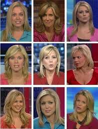 news anchor in la short blonde hair image of 9 white blond women shows amazing diversity of fox news