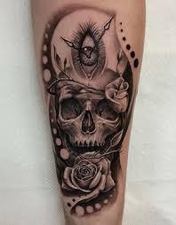 skull meanings custom design - Forearm Skull