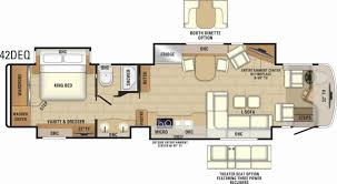 hitchhiker rv floor plans kitchen thor rv floor plans class lance travel trailers fifth