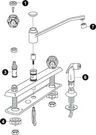 kitchen faucet diagram moen kitchen faucet replacement parts kitchen faucet parts diagram