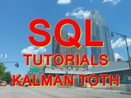 Select Into Table Sql Select 3 Select Into Table Create By Kalman Toth Youtube