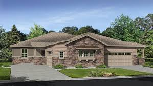 duplex plans with garage in middle whispering pines patio villas new patio homes in aurora co