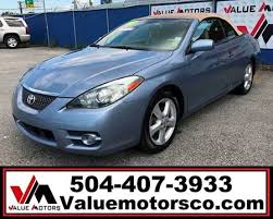 Sle Bill Of Sale For Automobile by Toyota Camry Solara For Sale In Louisiana Carsforsale Com