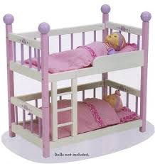 Bunk Bed For Dolls Wooden Bunk Bed For Baby Dolls Baby Doll Furniture Accessories