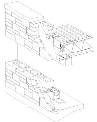 Cinder Block House Plans Barrier Wall Stone Veneerreinforced Concrete Block Idolza