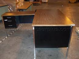 Metal L Shaped Desk Surplus Auction 726216