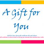 gift voucher template powerpoint gift certificate office templates