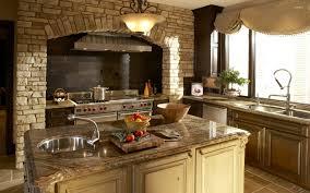 Tuscan Cabinets Kitchen Style Tuscan Kitchen Design Mediterranean Kitchens Room