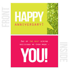 work anniversary cards happy work anniversary cards
