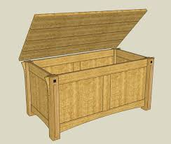 Build A Toy Box Easy by Sketchup I U0027m Glad I Took The Time To Learn It By Pashley