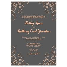 wedding invitations exles modern wedding invitation wording amulette jewelry