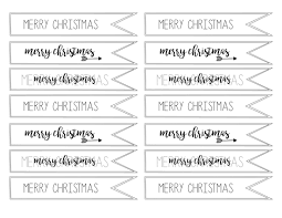 merry christmas tag free printable paper trail design