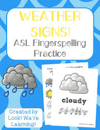 weather asl coloring pages look we u0027re learning