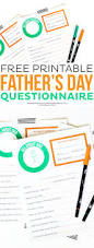 free printable father u0027s day questionnaire thirty handmade days
