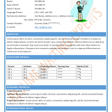 resume templates for freshers free download creative free download of resume templates for freshers performa