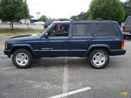 1989 jeep wagoneer limited patriot blue pearl 2000 jeep cherokee limited 4x4 exterior photo