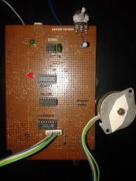 simple stepper motor driver using 555 timer ic circuit diagram