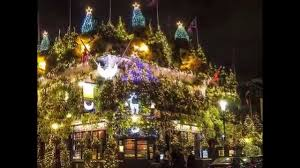 trees decorations and lights around the world