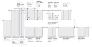 dimensions cuisine dimension meuble de cuisine schmidt conception de maison in taille