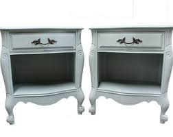 French Country Nightstand - pair of nightstands etsy