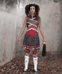 Zombie Halloween Costumes Girls 25 Dead Cheerleader Costume Ideas Zombie