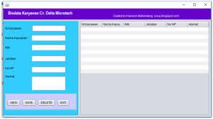 cara membuat koneksi database mysql menggunakan odbc tutorial pembuatan aplikasi java sederhana menggunakan database mysql