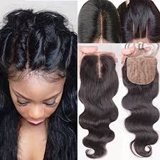 top closure hair wave silk top closure human hair