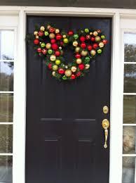 Fiber Optic Home Decor Exterior Cool Outdoor Christmas Decorations Ideas Front Door Decor