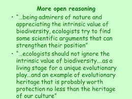 why conserve biodiversity u2013why is conservation a worthy social