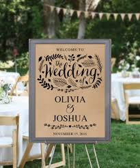 wedding signs diy 45 wedding signs diy rituals you should in 45 countdown to