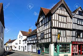 tudor buildings on the corner of church street and st marys lane