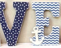 custom baby boy name wooden wall letters boy nursery decor