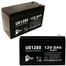 2 pack apc smart ups 750 battery ub1280 12v 8ah sealed lead acid