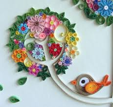 paper quilled art roundup quilling craft and paper quilling