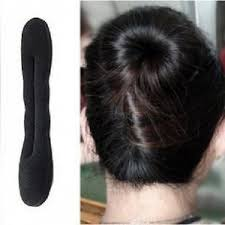 hair holder sponge hair holder hair bun maker free hair bin