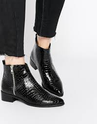 womens boots uk asos asos astronomical pointed ankle boots fresh2death