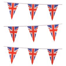 Flag Triangle Union Jack Triangle Bunting Dzd