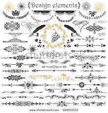 type ornaments stock images royalty free images vectors