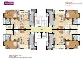 marvelous cluster house floor plan images best inspiration home