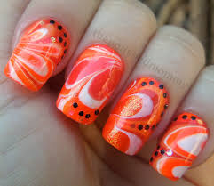 orange is the new nail colour trend u2013 the beauty box