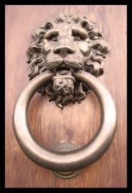benevolent golden lion italian door knocker doors pinterest