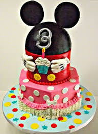 66 best mickey mouse cakes images on pinterest mickey mouse